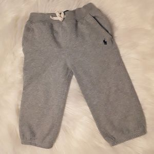 Polo by Ralph Lauren Boys Gray Sweatpants 24M